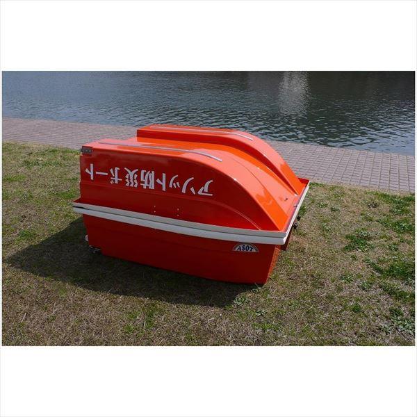 【代引不可】土佐レジン:折りたたみ式防災ボート ツーウェイ9