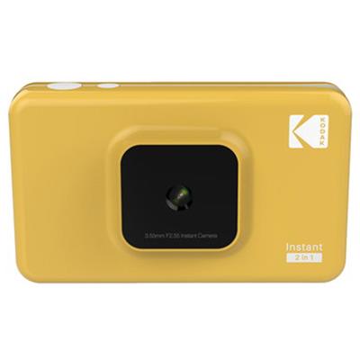 KODAK(コダック):カメラ付きインスタントプリンター イエロー C210YE