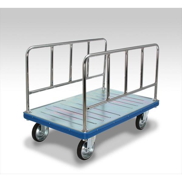 【代引不可】カナツー:長尺物運搬車500kg積載ストッパー付き BIG500-W-DS