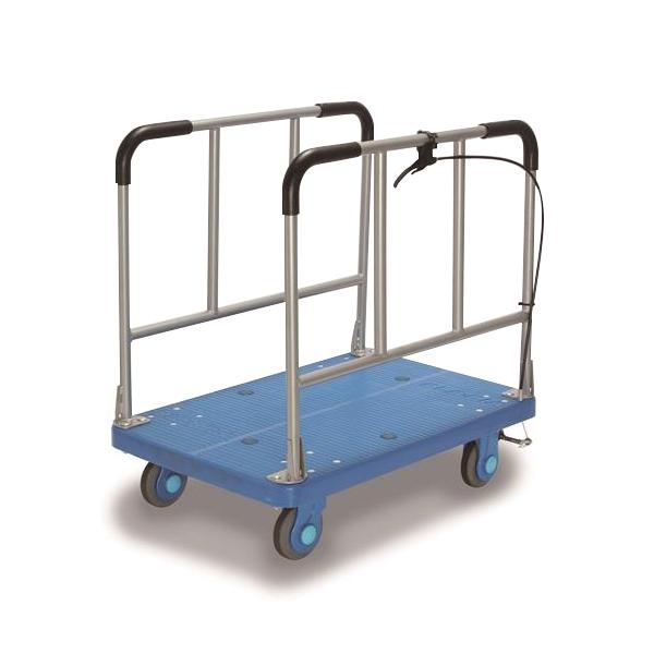 カナツー:ハンドストッパー付長尺物運搬車300kg積載 PLA300-W-HS