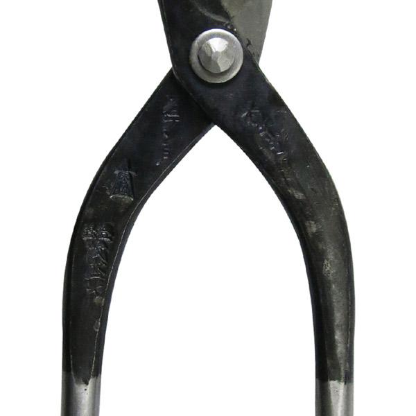鍛冶の技:茂盛光 ステン用板金鋏 直刃 210MM