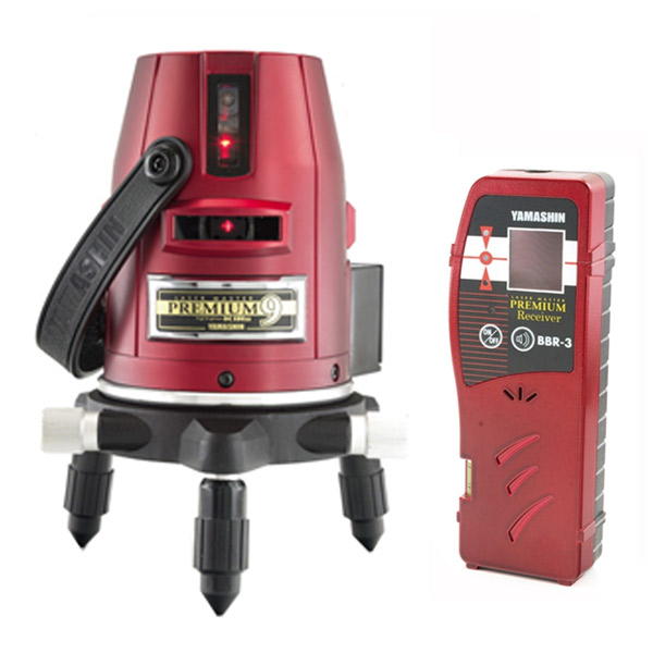 送料無料 PM-9-J:イチネンネット 本体+受光器 YAMASHIN:レーザーマスタープレミアム-DIY・工具