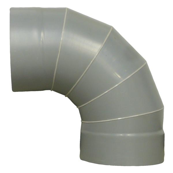 関西化工:90°エルボ 450 KW-170-450