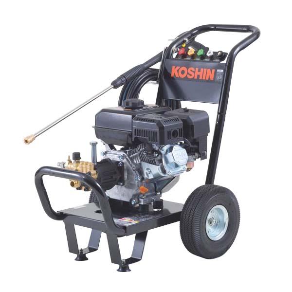 工進:エンジン式高圧洗浄機 JCE-1408UDX