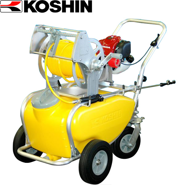 工進:ガーデンスプレイヤー エンジン動噴 MS-ERH50T