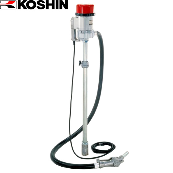工進:フィルポンプ 低粘度油用電動ドラムポンプ FR-200
