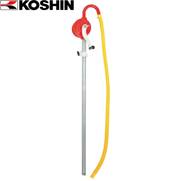KOSHIN こうしん 農業 園芸 セール価格 4971770010154 SB-25 人気商品 工進:低粘度油用手廻しドラムポンプ 機械