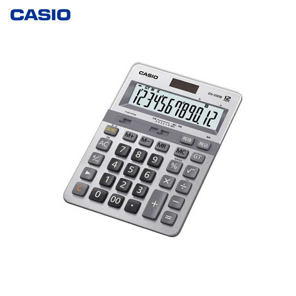 カシオ計算機(CASIO):本格実務電卓(日数&時間計算タイプ) DS-20DB-N
