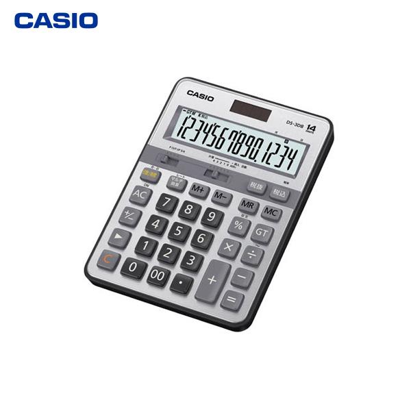 カシオ計算機(CASIO):本格実務電卓(日数&時間計算タイプ) DS-3DB