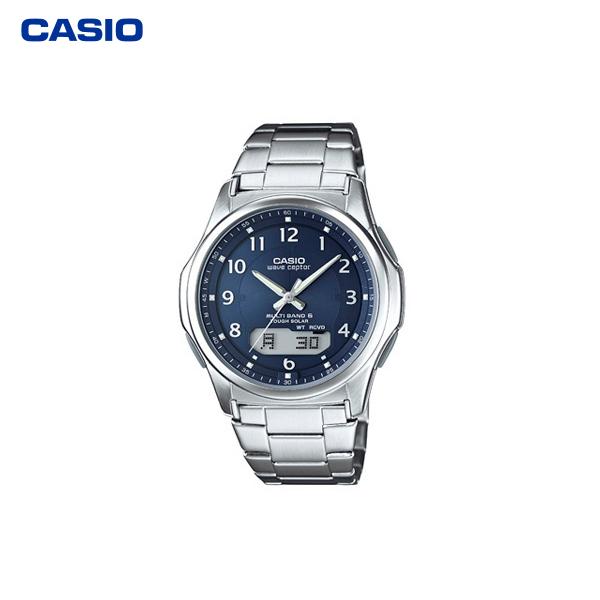 カシオ計算機(CASIO):電波ソーラーウオッチ(紳士用) WVA-M630D-2A2JF