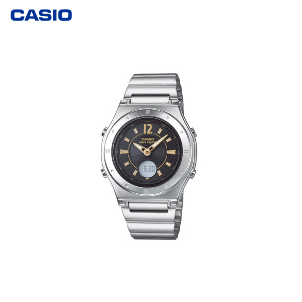 カシオ計算機(CASIO):電波ソーラーウオッチ(婦人用) LWA-M141D-1AJF
