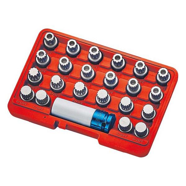 4580343117772 ラグナ:ホイールロックソケットセット JTC6743 SST 特殊工具 自動車