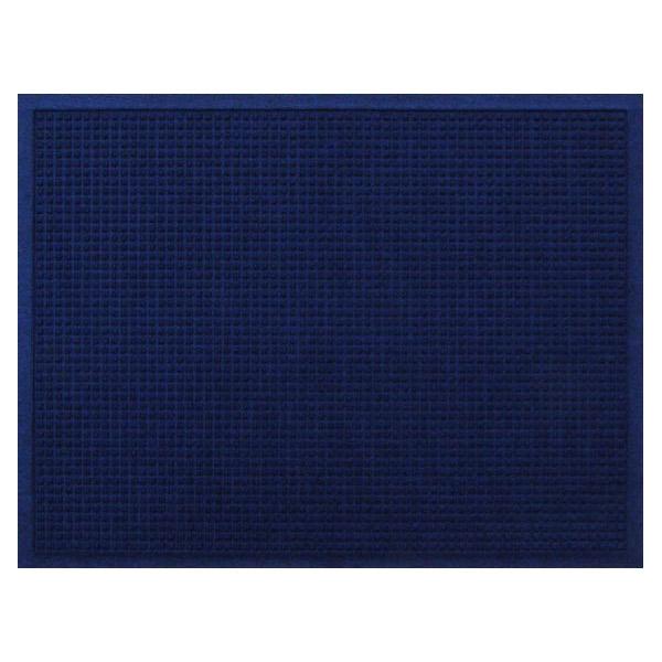 クリーンテックス・ジャパン:玄関マット 屋内 屋外 ウォーターホースII(ワッフル) ネイビー・ブルー 88×146cm AC00043