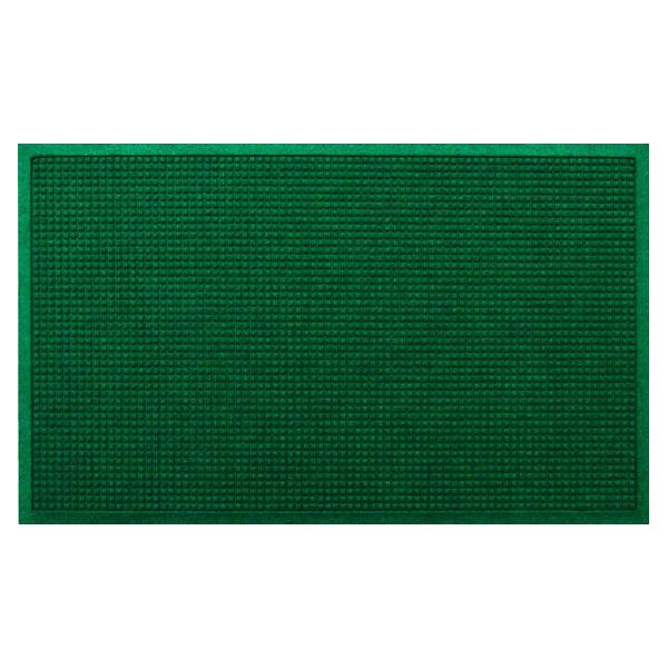 クリーンテックス・ジャパン:玄関マット 屋内 屋外 ウォーターホースII(ワッフル) グリーン 88×146cm AC00045