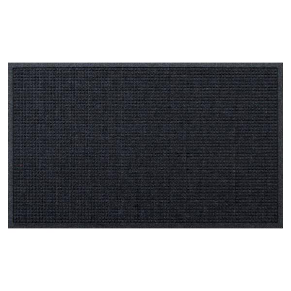 クリーンテックス・ジャパン:玄関マット 屋内 屋外 ウォーターホースII(ワッフル) ダーク・グレー 88×146cm AC00049