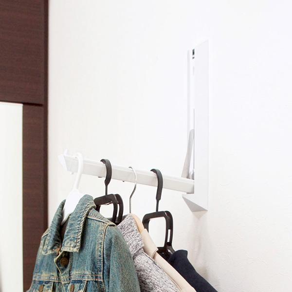 サヌキ 室内壁面用物干し ドライ・イット ホワイト サイズ350 DIT-350