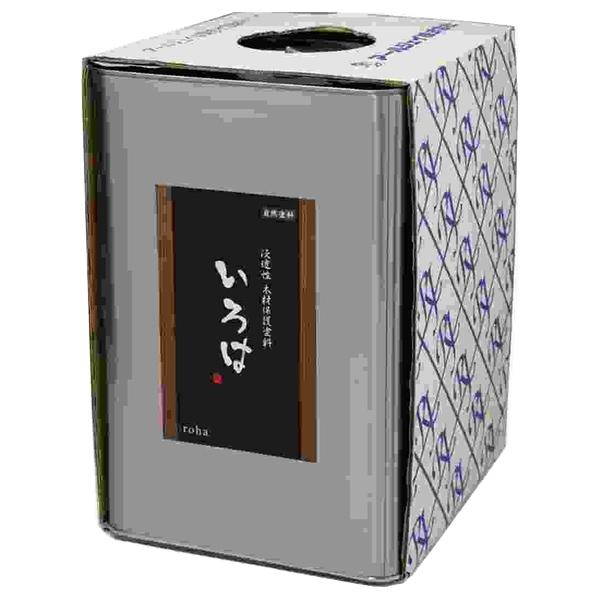アールジェイ:いろはカラー(屋内・屋外兼用) 16L 濃茶(こいちゃ) YU-16