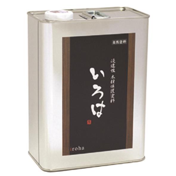 アールジェイ:いろはカラー(屋内専用・つや消し透明) 3.5L 白檜(しらべ) YSS-03