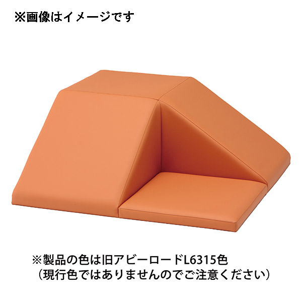 【代引不可】omoio(オモイオ):スクエア共通スロープマット (旧アビーロード品番:AO-06) 張地カラー:MP-33 ネズミイロ KS-SQ-LP