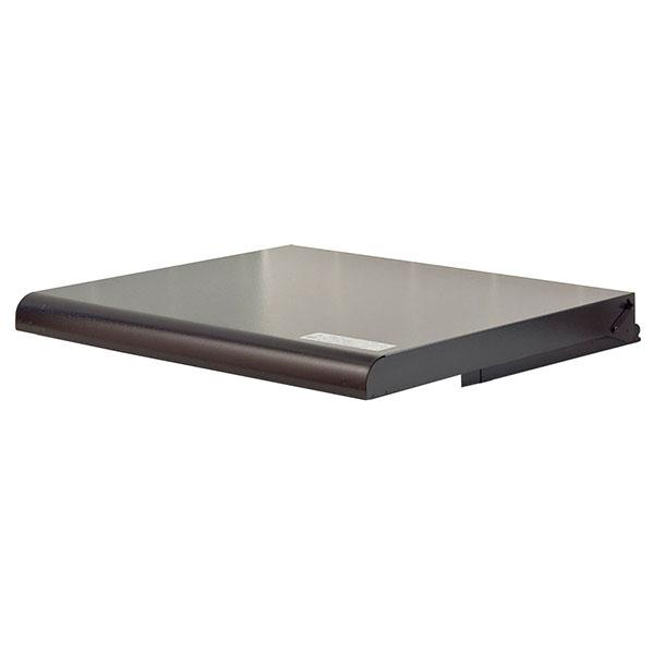 池永鉄工:システムキッチン用コンロカバー 60cm用 ブラック IK-20B
