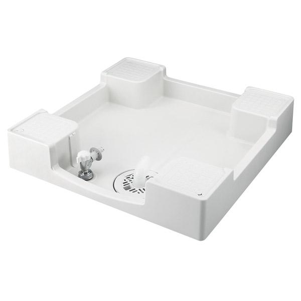 テクノテック:給水栓付防水パン フォーセットパン 専用ガード無し ニューホワイト TPF640-CW2-GN