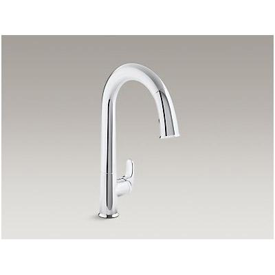 【代引不可】KOHLER(コーラー):【正規輸入品】センセート シングルレバー タッチレス キッチン水栓 K-72218-CP