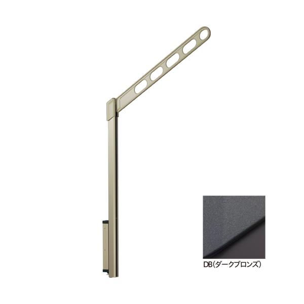 川口技研:腰壁用ホスクリーン ポール上下タイプ LP-70型 DB(ダークブロンズ) 1セット(2本) LP-70-DB
