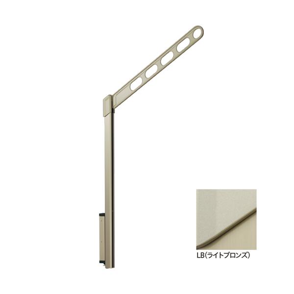 川口技研:腰壁用ホスクリーン ポール上下タイプ LP-70型 LB(ライトブロンズ) 1セット(2本) LP-70-LB