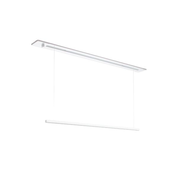 川口技研:室内用ホスクリーン 昇降式操作棒タイプ URB型 1セット URB-S-W