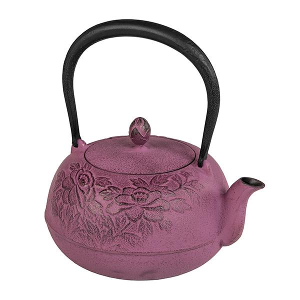 池永鉄工:南部池永 鉄瓶 瑞光 紫