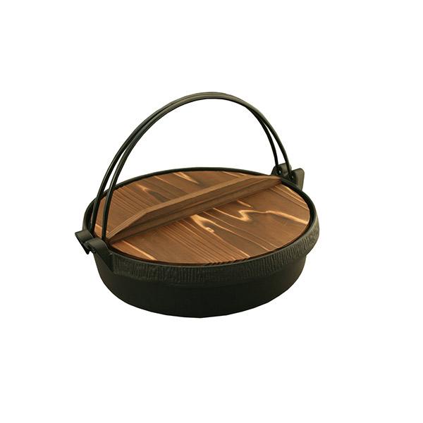 池永鉄工:Sすき鍋 木蓋付 22