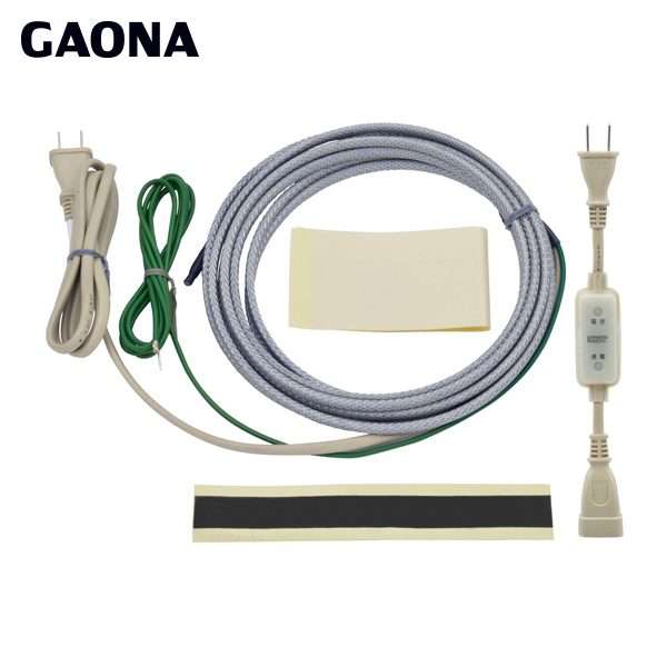 カクダイ(GAONA):これカモ 凍結防止ヒーター3m サーモスタットつき GA-KE003