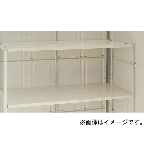 【代引不可】田窪工業所:タクボ物置 オプション 側面別売棚セット(片側2段支柱付) NHT-SB26W