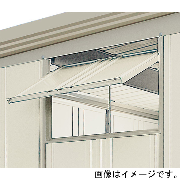田窪工業所:タクボ物置 オプション 換気窓 21用 設置後納入 HM-21BN