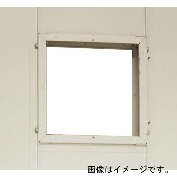 【代引不可】田窪工業所:タクボ物置 オプション 換気扇用パネル 20用 設置後納入 J-KF-20B