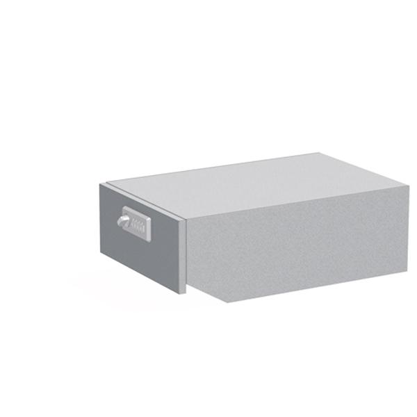 ぶんぶく:マイナンバー専用回収ボックス シャイニーシルバー KIM-S-MN-SS