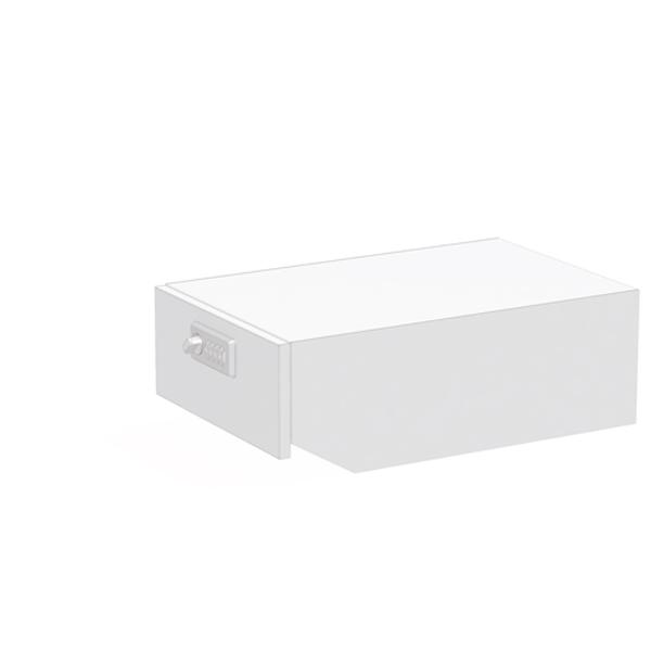 ぶんぶく:マイナンバー専用回収ボックス ネオホワイト KIM-S-MN-NW
