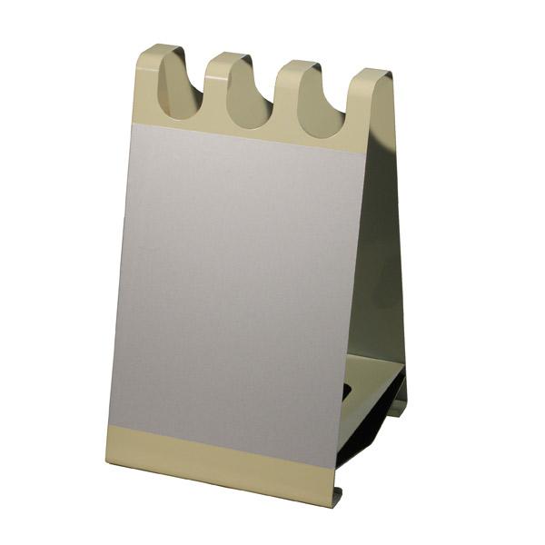 ぶんぶく:アンブレラスタンド サインボード型 ホワイトボードシート付 BE UOS-X-03S-BE