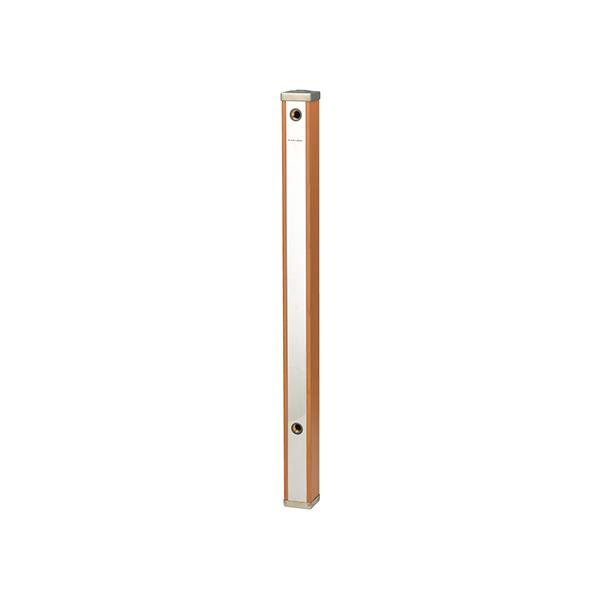 カクダイ(GAONA):これエエやん 水栓柱(ブラウン木目)70角 GA-RG004