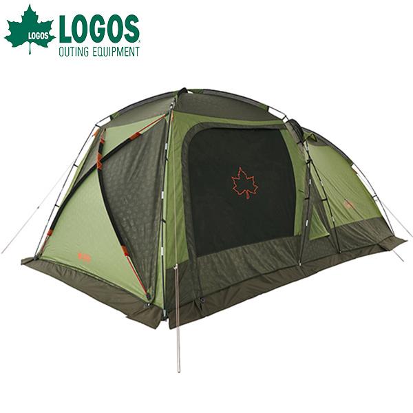 あす楽 ロゴス(LOGOS):neos PANELスクリーンドゥーブル XL-BJ テント タープ 2ルーム 大型 キャンプ アウトドア 防災 撥水 難燃 71805551