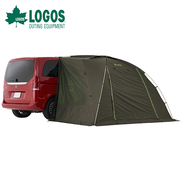 あす楽 ロゴス(LOGOS):neos ALカーサイドオーニング-AI カーサイド型テント タープ シェルター 簡単設営 日除け 雨よけ キャンプ アウトドア 海水浴 71805055