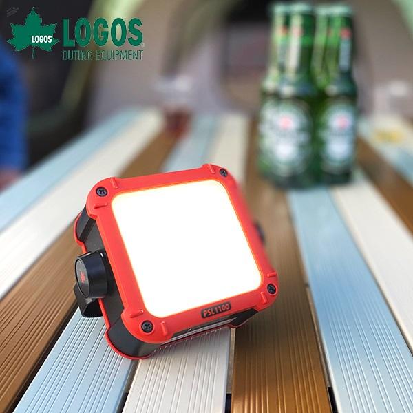 あす楽 ロゴス(LOGOS):パワーストックランタン1100 フルコンプリート LED ライト 蓄電式 防災 スマホ充電 アウトドア キャンプ レジャー 防水 74176021