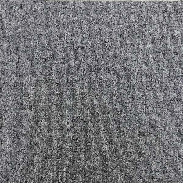 NCK:(洗える)NC吸着タイルカーペット 淡グレー(淡灰色) 40枚セット1箱(置くだけ) 30V01-P40