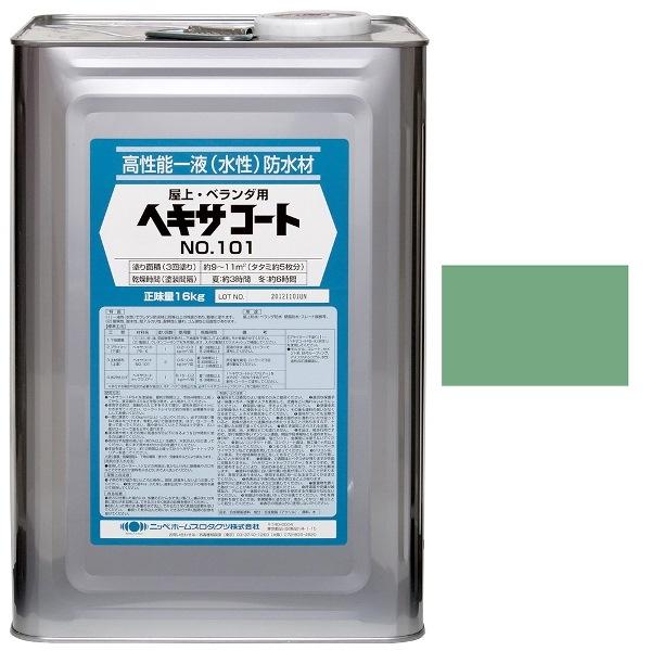ニッペホームプロダクツ:水性ヘキサコート NO.101 グリーン 16kg