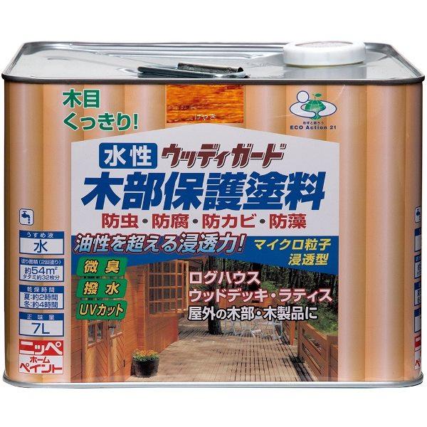 ニッペホームプロダクツ:水性ウッディガード けやき 7L