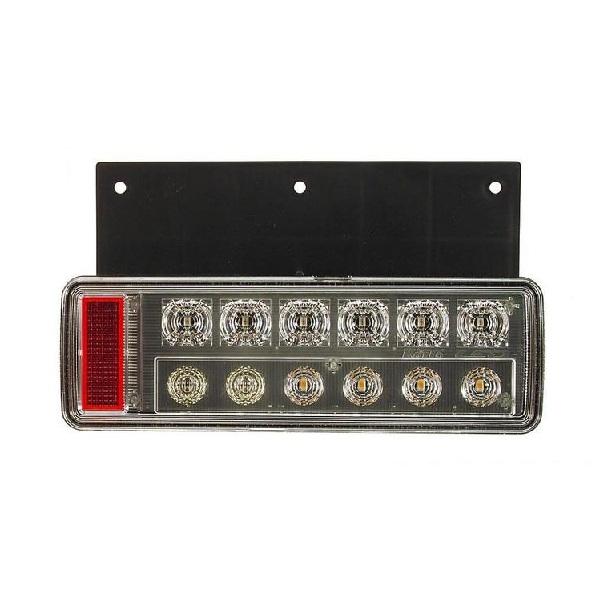 KOITO:小型オールLEDリアコンビネーションランプ Bタイプ バックブザー無し 右(ハザード省電力仕様) LEDRCL-24RKE