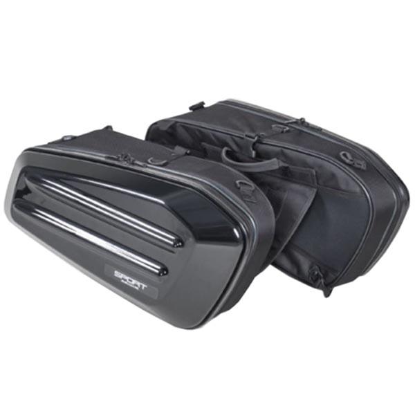 モトフィズ MOTOFIZZ サイドバッグ 4510819104968 TANAX MFK-217 ブラック アウトレットセール 特別セール品 特集 タナックス :スポルトシェルケース