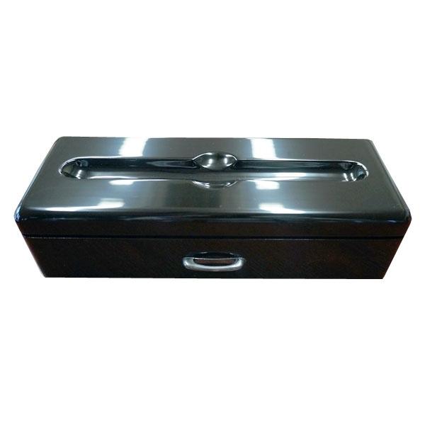 【代引不可】大木工藝:万年筆1本収納 黒漆単色 OGC-FPB01-03