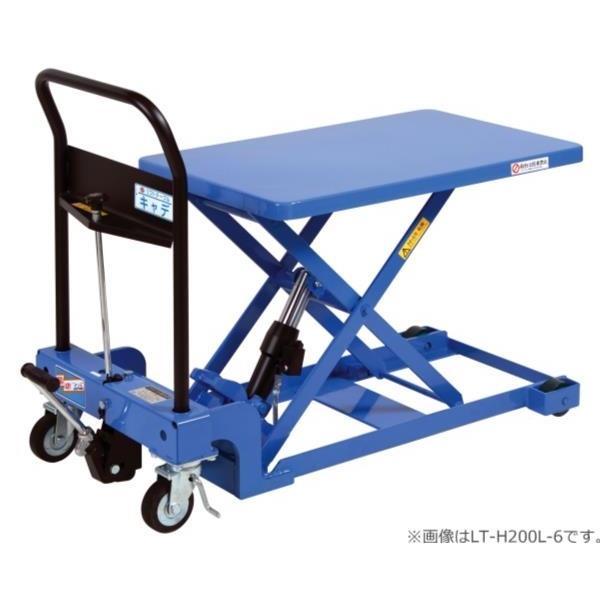 【代引不可】をくだ屋技研:リフトテーブルキャデ 低床タイプ 400kg仕様 LT-H400L-6