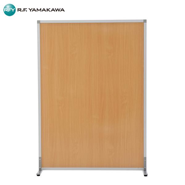 アール・エフ・ヤマカワ:シンプルスクリーンハイII W1200 ナチュラル メラミン (アジャスター仕様) RFSCRHW2-NA オフィス 会社 家具 応接